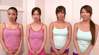 Crazy Japanese girl in Cane JAV censored Massage, Dispose Sexual intercourse motion picture